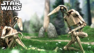 Download How 2 Battle Droids Inadvertently Deserted the Separatist Army - The Forgotten Stories #1 Video