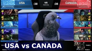 Download NA LCS Civil War - Team USA vs Team Canada | 2018 April Fools LoL Casters and Pro Players show Match Video