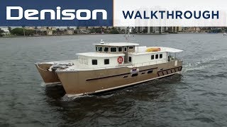 Download GLAZMOR: 58' Expedition Catamaran [Walkthrough] Video