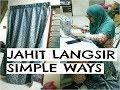 Download JAHIT LANGSIR PINTU DI RUMAH MAK | MESSY HOUSE | PERSEDIAAN RAYA 2017 Video