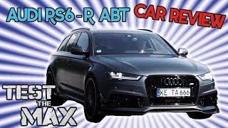 Download Audi RS6 R ABT - 730 PS im Familienkombi | Test the Max Video