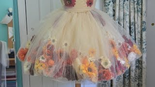 Download Making a Flower Fairy Dress - Part one Video