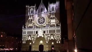 Download Lyon Fête Des Lumières Évolutions Cathédrale St Jean 2016 Video