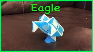 Download Rubik's Twist or Smiggle Snake Puzzle Tutorial: How to Make an Eagle Step by Step Video