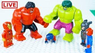 Download LEGO Superheroes LIVE 🔴 STOP MOTION LEGO Hulk Ultimate Rage   LEGO Hulk   By Billy Bricks Video