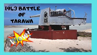 Download KIRIBATI, WW2 1943 BATTLE of TARAWA, the JAPANESE SITES (Central Pacific) Video