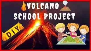 Download VOLCANO SCHOOL PROJECT ACTIVITY EASY DIY Video