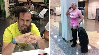 Download Times People Had To Look Twice To Understand What They Were Seeing At The Airport (Part 2) Video