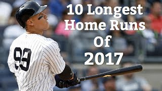 Download 10 Longest Home Runs of 2017 (As of June 25th) Video