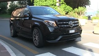 Download 2017 Brabus 850 XL 'Mercedes GLS63 AMG' in Monaco | A HOUSE ON STEROIDS! Video