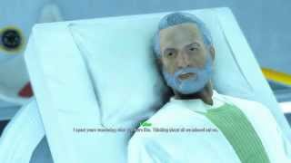 Download Fallout 4 - Nuclear Family: Shaun ″Father″ In Bed Dying ″Glad I Found You″ Ending Dialogue Sequence Video