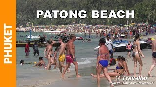 Download Patong Beach 2016 - A walk along Patong Beach - Phuket holiday - This is what its like! Video
