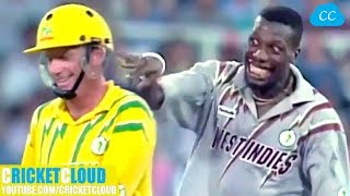 Download Curtly Ambrose's SLOWEST BALL EVER to Ian Healy | Followed by Funniest Reaction Ever !! Video