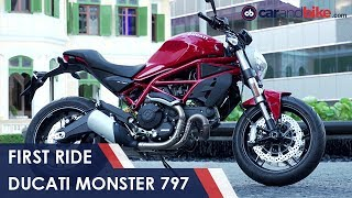Download Ducati Monster 797 First Ride Review | NDTV CarAndBike Video