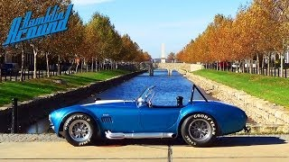Download Test Driving 1965 Shelby Cobra 575 Horsepower Muscle Car - 427 Side-Oiler CSX4891 Video