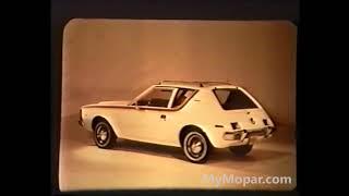 Download 1970 AMC Gremlin Dealer Promo Film Video