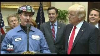 Download Coal Miner Thanks President Trump for Removing Regulations Video