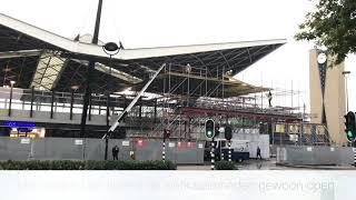 Download 'Kroepoekdak' station Tilburg in de steigers Video