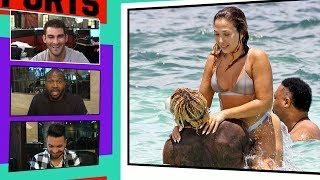 Download Odell Beckham Jr. Hits the Beach in Cancun with Girlfriend Polyxeni Ferfeli I TMZ Sports Video