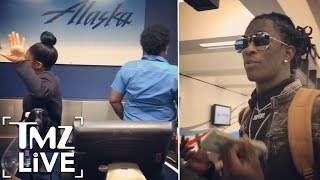 Download YOUNG THUG Shames Airport Workers | TMZ Live Video