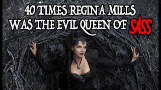 Download 40 Times Regina Mills Was The Evil Queen Of Sass Video