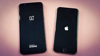 Download One Plus 5T vs iPhone 6 ( ios 11.1.1 ) SPEEDTEST COMPARISON Video