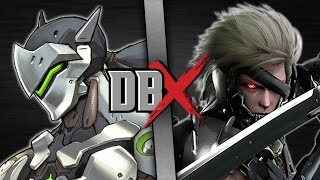 Download Genji VS Raiden (Overwatch VS Metal Gear) | DBX Video