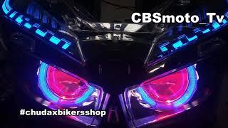 Download Proji hid allnew vario 2018 || by chudax bikers shop Video