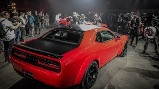 Download 2018 Dodge Challenger Demon reveal live from New York Video