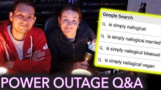 Download Painting My Nails in a Power Outage (answering the most Googled questions about me) Video