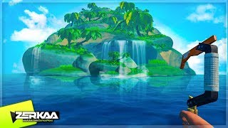 Download THE BIGGEST ISLAND WE'VE FOUND! (Raft #5) Video
