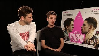 Download 120 BPM - Nahuel Pérez Biscayart and Arnaud Valois interview Video