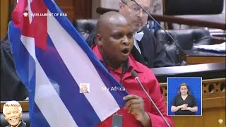 Download ″We Want South Africa To Be Like Cuba″ Floyd Shivambu Video