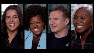 Download WIDOWS Interviews: Viola Davis, Liam Neeson, Michelle Rodriguez, Cynthia Erivo, Steve McQueen Video