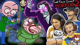 Download BALDI the WALRUS? TROLLFACE HORROR QUEST 2 w/ Mom & Shawn (FGTEEV gets Trolled) Video