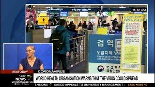 Download World Health Organisation's Corona virus warning: Dr. Sibongile Walaza Video
