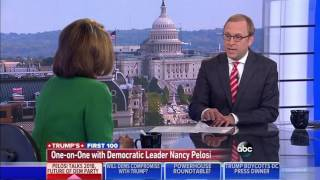 Download Nancy Pelosi Gives Democrats a Grade of ″100%″ for the First 100 Days Video