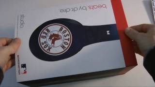 Download Beats by Dr Dre Studio Headphones Boston Red Sox Special Edition Unboxing Video