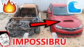 Download Flooded SUBARU STI IMPOSSIBLE Rebuild attempt PART 1 CRRISPY FIRE DAMAGE SAVES THE DAY Video