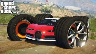 Download OFF-ROAD BUGATTI WITH HUGE TIRES! 4x4 Off-Roading & Mudding! (GTA 5 PC Mods) Video