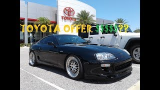 Download How much did Toyota offer for my 800hp Supra ?? Video