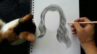 Download Gerçekçi Saç Nasıl Çizilir ? Video