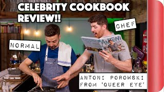 Download A Chef and Normal Review Celebrity Cookbooks! | Antoni Porowski from Queer Eye Video