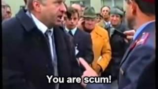 Download Zhirinovsky attacks a police officer (ENG subtitles) Video