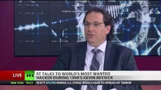Download 'Use VPN!' Former 'Most Wanted Hacker' Mitnick talks Snowden, NSA, privacy Video
