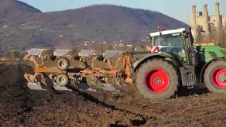 Download Aratura con FENDT 936 Vario + Quadrivomere MORO Raptor -by Wallaby2012end Video