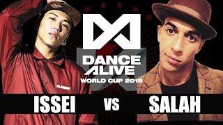Download ISSEI(Japan) vs SALAH(France) FINAL / DANCE ALIVE WORLD CUP 2018 Video