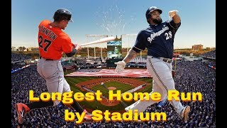 Download Longest Home Run In Every MLB Stadium Video