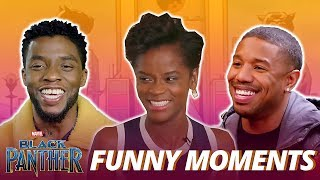 Download Black Panther Cast - Best Funniest Moments (Try Not To Laugh) Video