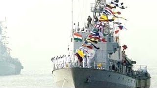 Download Indian warships to escort aircraft carrier INS Vikramaditya from Russia Video